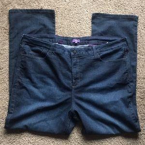 NYDJ Mini Boot Jeans Plus Size 24W